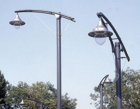 street lighting colums brackets
