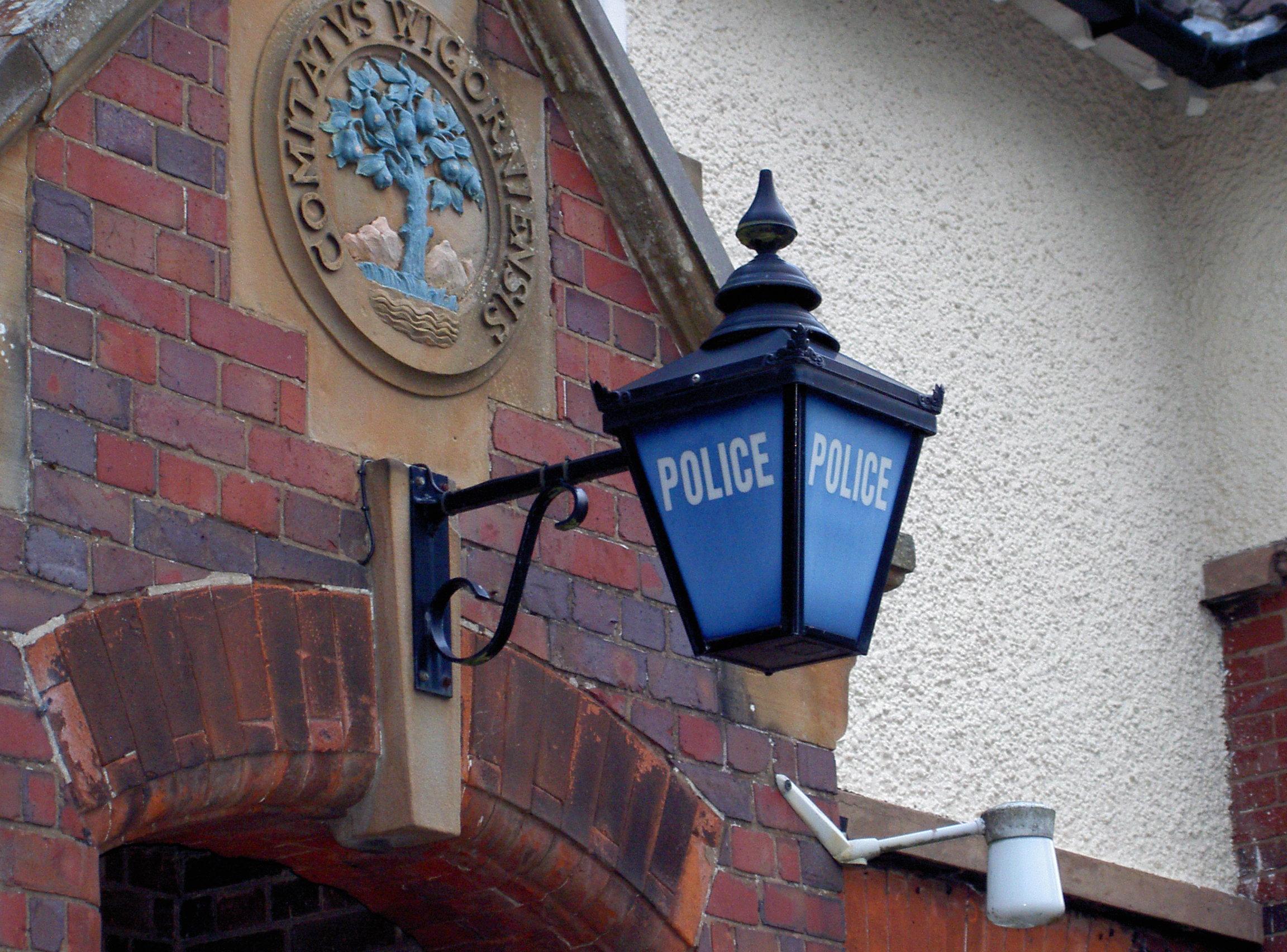 Mercia heritage police lantern