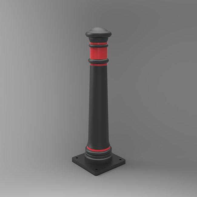 non-illuminated traffic bollard