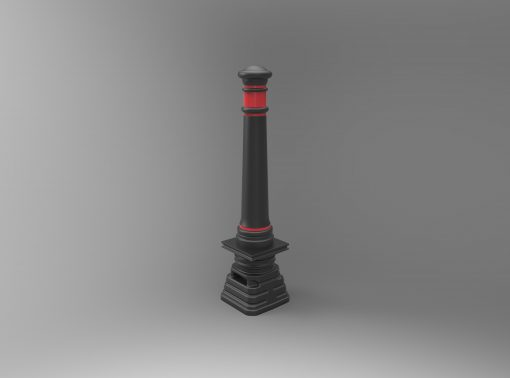 non-illuminated traffic bollards